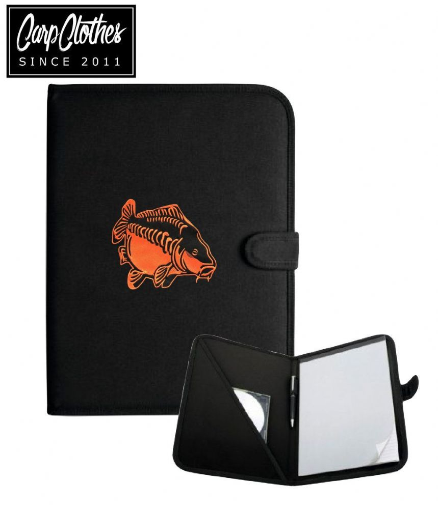 009 CARP CLOTHES PRINTED PAD FOLDER